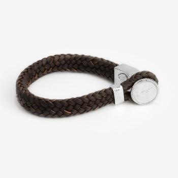 8e77b21b77d Brown Leather Bracelet with Tahitian Pearls – Eduardo Sanchez ...